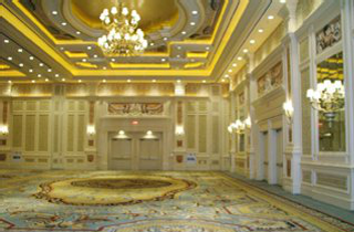 Robert Crowder and Company undertook a major project during the summer of 2005, that involved the wallcovering of the Grand Ballroom in the Venetian Hotel, ...